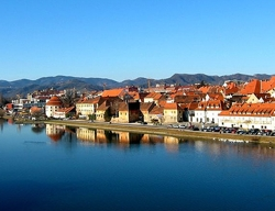 The second largest city in Slovenia - Maribor